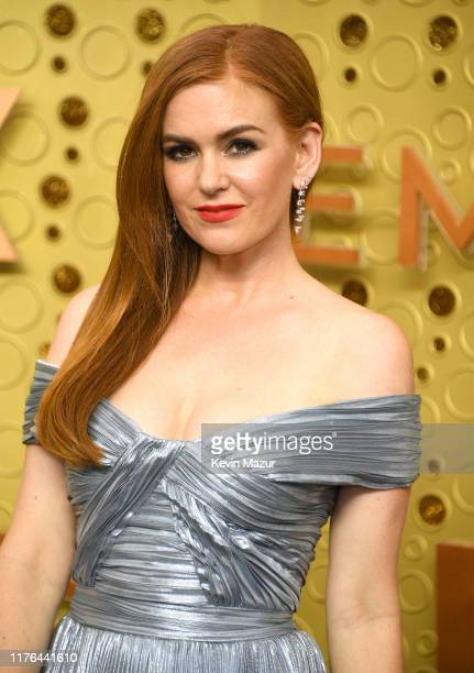 Isla Fisher attends the 71st Emmy Awards at Microsoft Theater on September 22 2019 in Los Angeles California