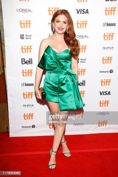 Isla Fisher attends the Greed premiere during the 2019 Toronto International Film Festival at The Elgin on September 07 2019 in Toronto Canada