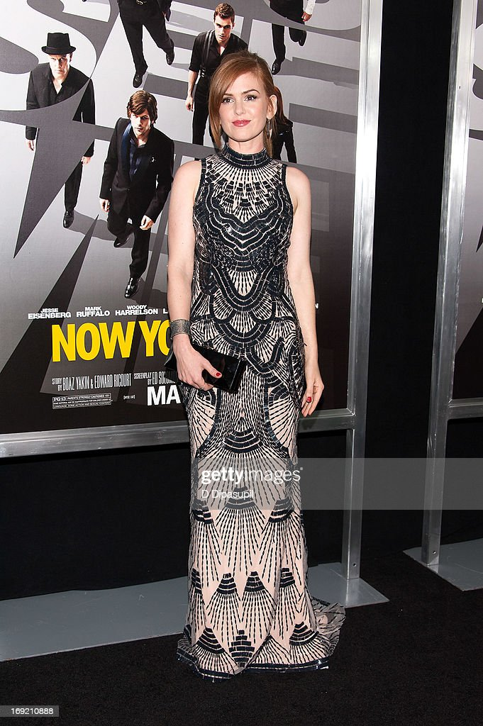 Isla Fisher attends the 'Now You See Me' premiere at AMC Lincoln Square Theater on May 21, 2013 in New York City.