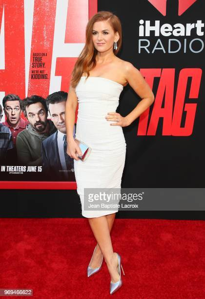 Isla Fisher attends the premiere of Warner Bros Pictures and New Line Cinema's 'Tag' on June 07 2018 in Los Angeles California