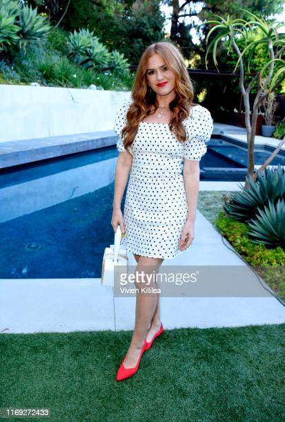 Isla Fisher attends the Rothy's Conscious Cocktails event at a private residence on August 20 2019 in Los Angeles California