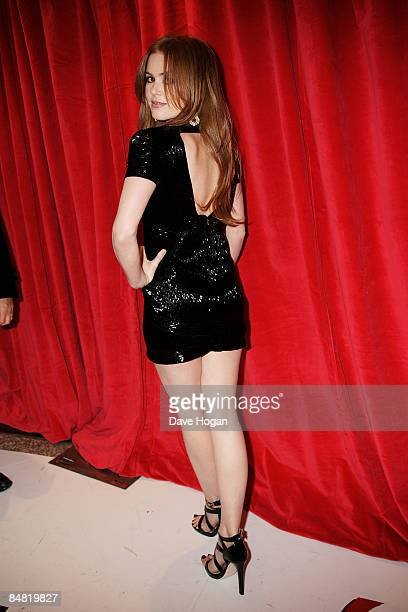 Isla Fisher attends the UK premiere of Confessions of a Shopaholic held at the Empire Leicester Square on February 16 2009 in London England