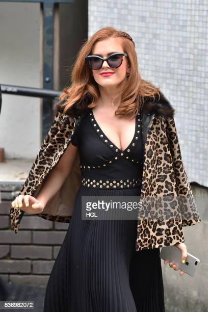 Isla Fisher seen at the ITV Studios on August 22 2017 in London England