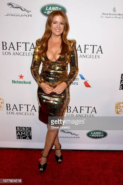 Isla Fishers attend The BAFTA Los Angeles Tea Party at Four Seasons Hotel Los Angeles at Beverly Hills on January 5 2019 in Los Angeles California