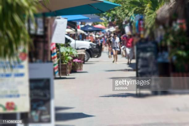 isla mujeres island in quintana roo, mexico - mujeres fotos imagens e fotografias de stock