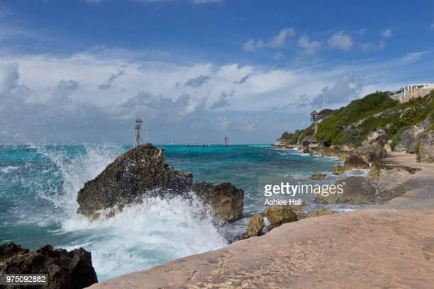 isla mujeres - punta sur - mujeres fotos stockfoto's en -beelden