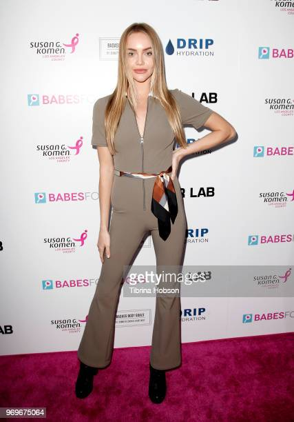 Isla Sullivan attends the Babes for Boobs live auction benefiting Susan G Komen LA at El Rey Theatre on June 7 2018 in Los Angeles California