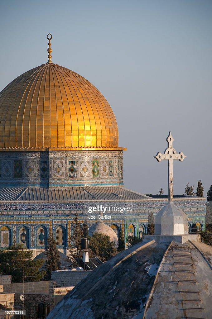 Islam y el Cristianismo : Foto de stock