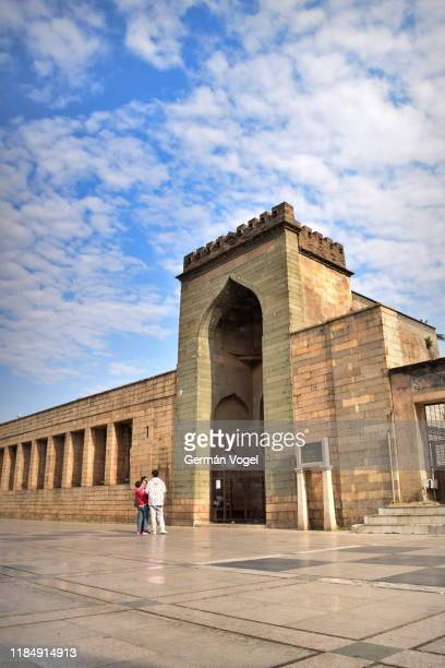 islam in china - ancient qingjing ashab mosque of early muslim community in quanzhou, fujian, china - vogel stock pictures, royalty-free photos & images