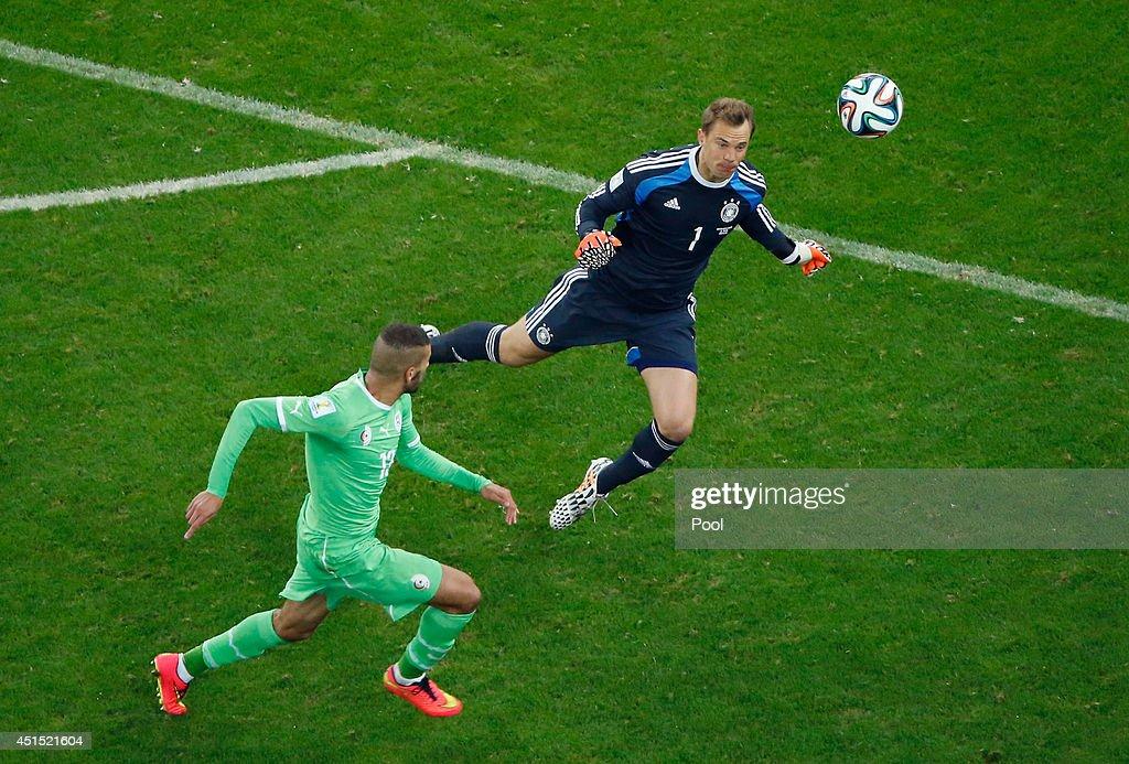 Germany v Algeria: Round of 16 - 2014 FIFA World Cup Brazil : News Photo