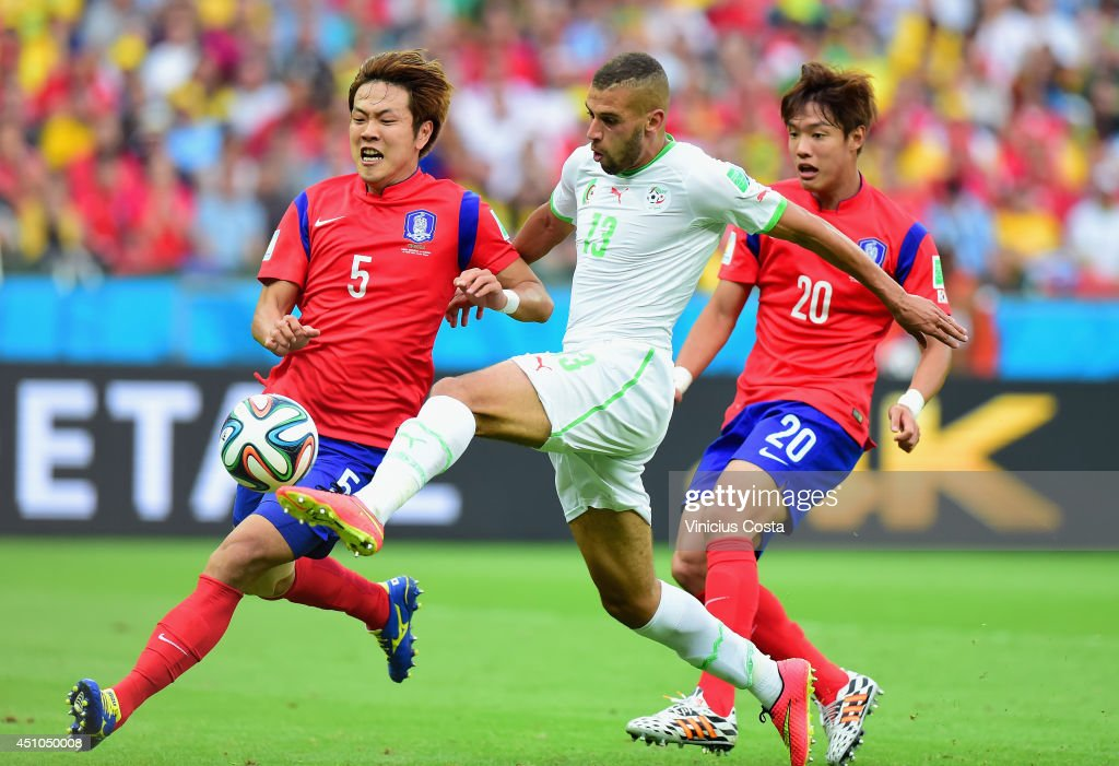 Korea Republic v Algeria: Group H - 2014 FIFA World Cup Brazil