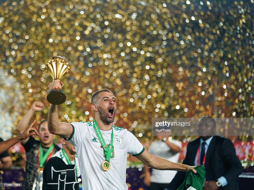 Algeria v Senegal -  Final of 2019 African Cup of Nations : Foto jornalística