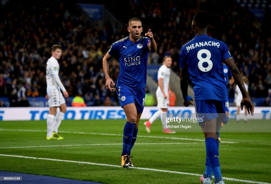 Leicester City v Leeds United - Carabao Cup Fourth Round : News Photo