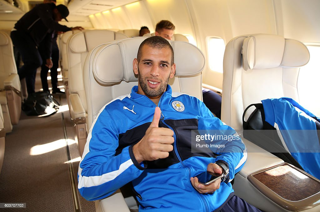 Leicester City Depart for Their Champions League Tie in Brugge : News Photo