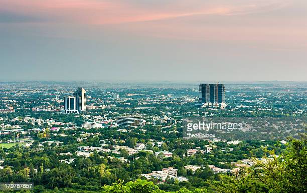 islamabad city view - islamabad stock pictures, royalty-free photos & images