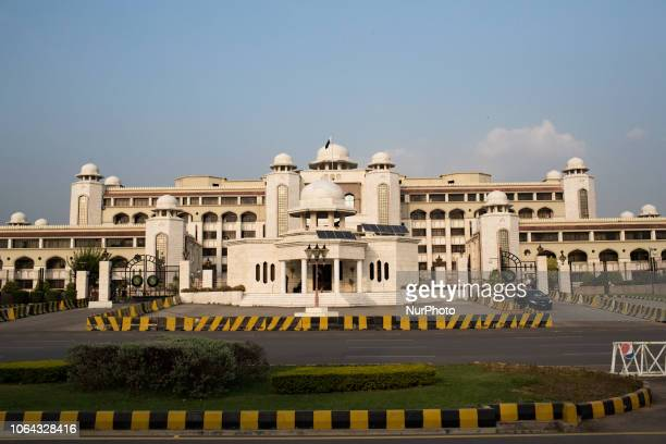 Islamabad, Pakistan, 24 September 2018. A view of the Prime Minister's Secretariat. The Prime Minister's Office is the principle workplace of the...