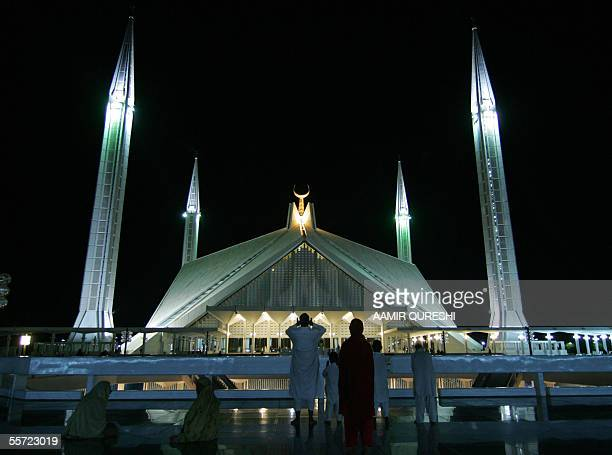 Pakistani Muslims conduct a special prayer night at the Faisal Mosque to mark ShabeBarat one of the major Islamic religious occasion in Islamabad 19...