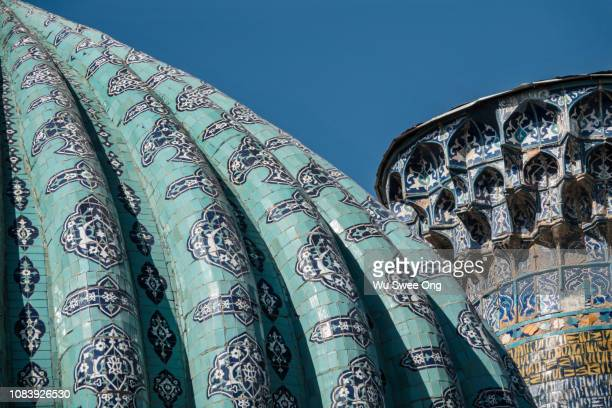 islamic architecture in uzbekistan - muziek stock pictures, royalty-free photos & images