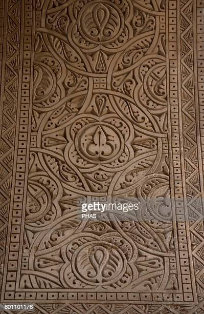 Islamic Art Mosque of Ibn Tulun Abbasid period Portico Detail Decoration Cairo Egypt