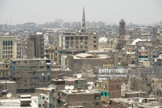 islamic cairo, also medieval or fatimid cairo, egypt - argenberg stock-fotos und bilder