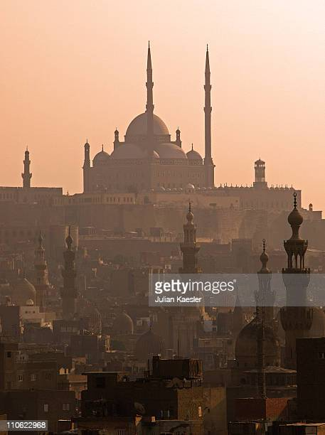 Islamic Cairo Skyline and Mohammed Ali Mosque