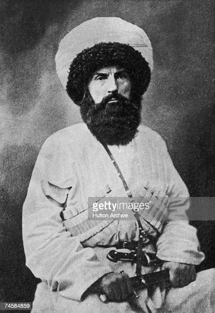 Islamic chieftain Shamil a political and religious leader from the Northern Caucasus who led his people in their resistance against the Russians...
