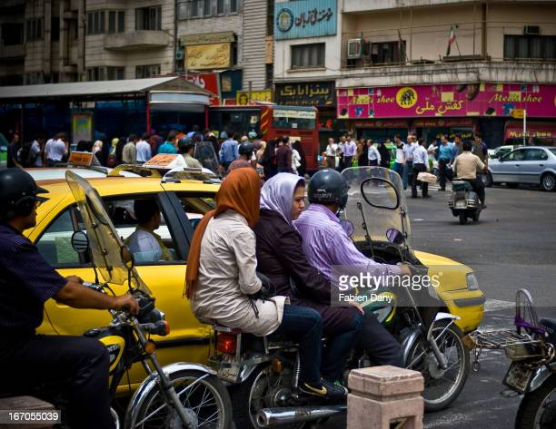 Islamic law in Iran forbids people from different sexes and who are not family to sit near each other in public transports. This is still applied in...
