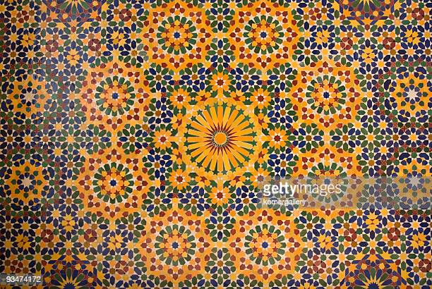 islamic mosaic in Morocco
