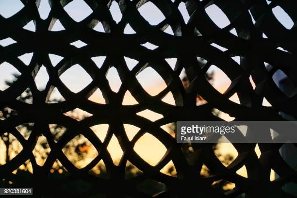 Islamic ornaments in masjid