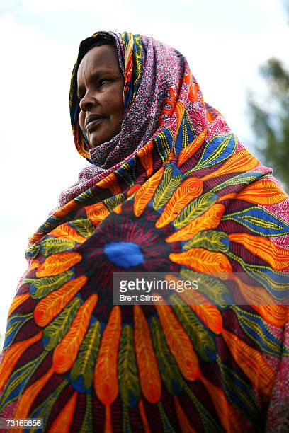 Islamic Somali refugee woman December 2006 on the Somali Kenya Border region As a result of the ongoing Somali conflict there is a steady influx of...