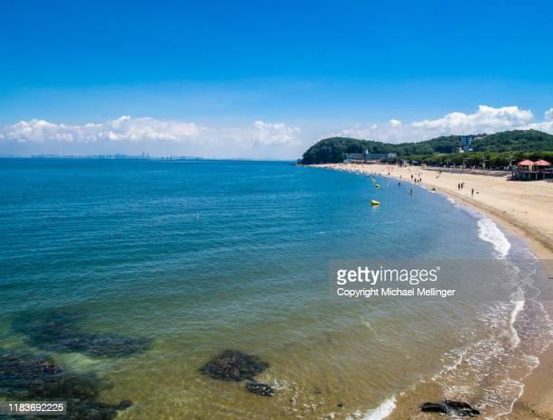 island coastline south korea - 仁川 ストックフォトと画像