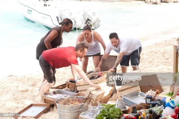 "Island Fever"" Episode 814 -- Pictured: Finalists Tiffany Derry, Richard Blais, Antonia Lofaso, Mike Isabella"