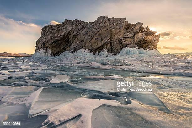 Island in Lake Baikal