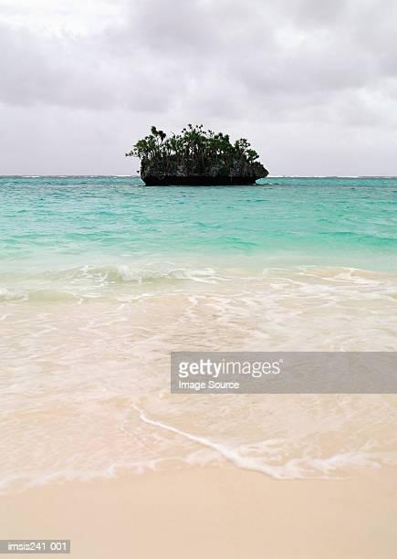 Island in sea