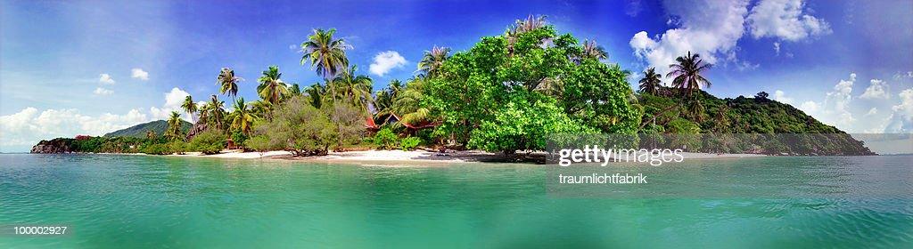 Island in the sun : Stock-Foto