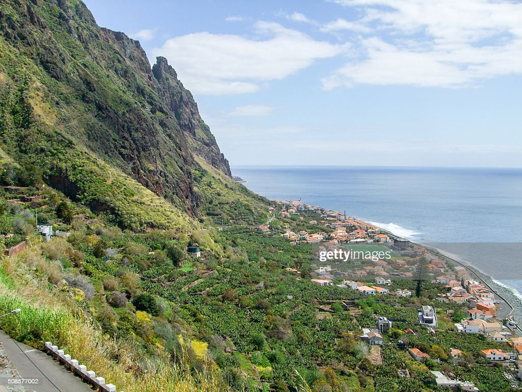 Island named Madeira : Stockfoto