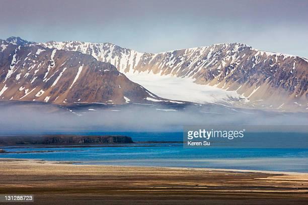Island of Burgerbukta in Spitsbergen
