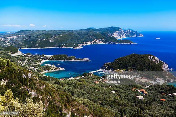 Island of Corfu, Paleokastritsa