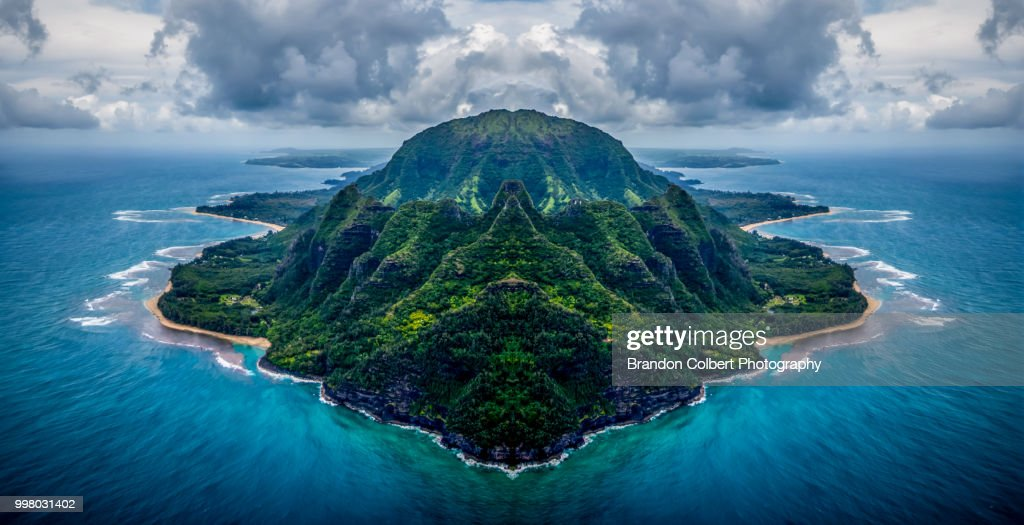 Island of Kauai : Stock Photo