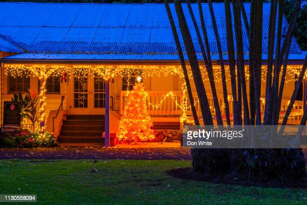island of maui in hawaii - hawaii christmas stock pictures, royalty-free photos & images