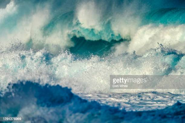 island of oahu in hawaii - shallow stock pictures, royalty-free photos & images