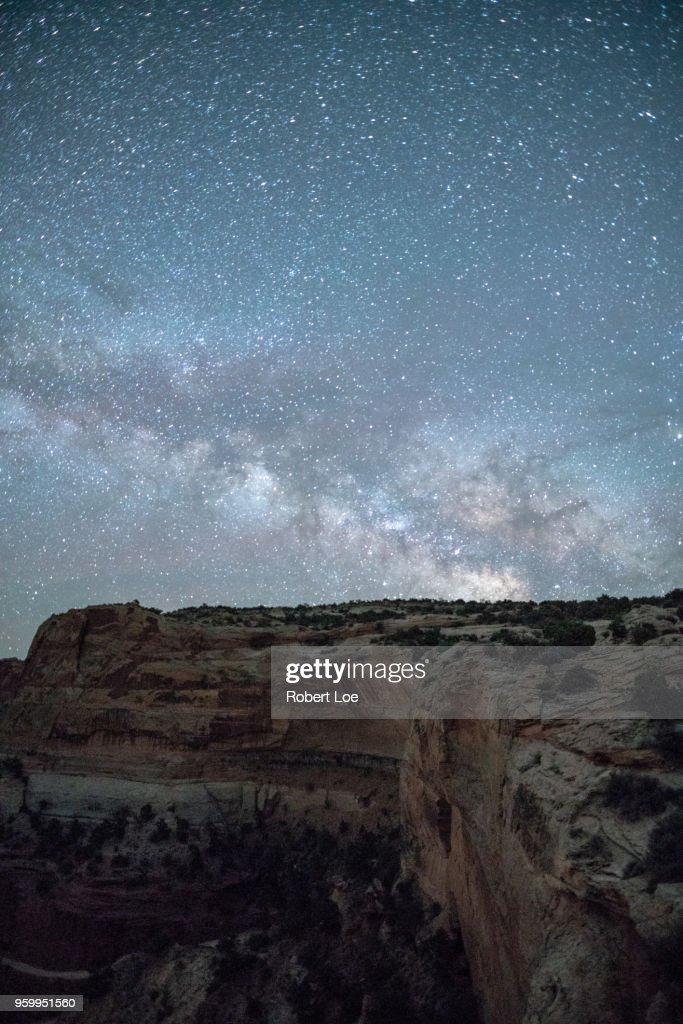 Island of the Sky Milky Way : Stock-Foto