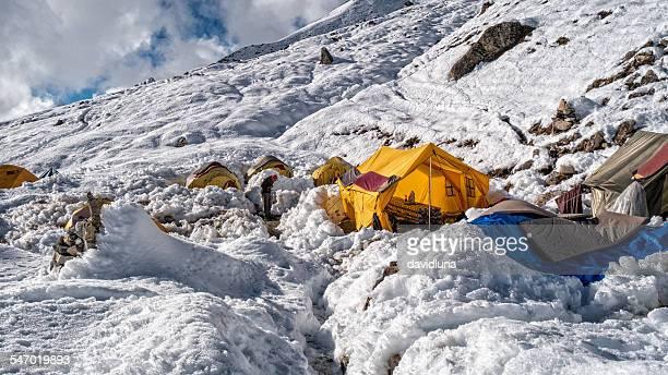 Island Peak Base Camp, Himalayas, Nepal