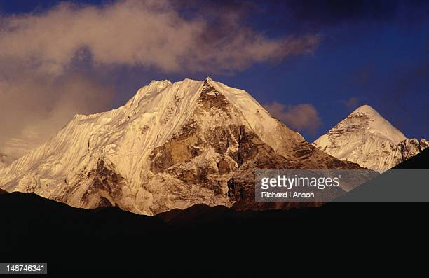 Island Peak, or Imja Tse (6189m); a popular trekking peak in the Khumbu region