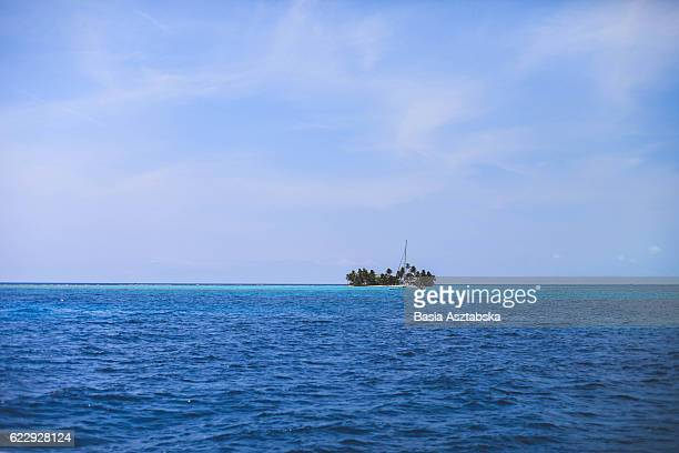 island - catamaran sailing stock photos and pictures