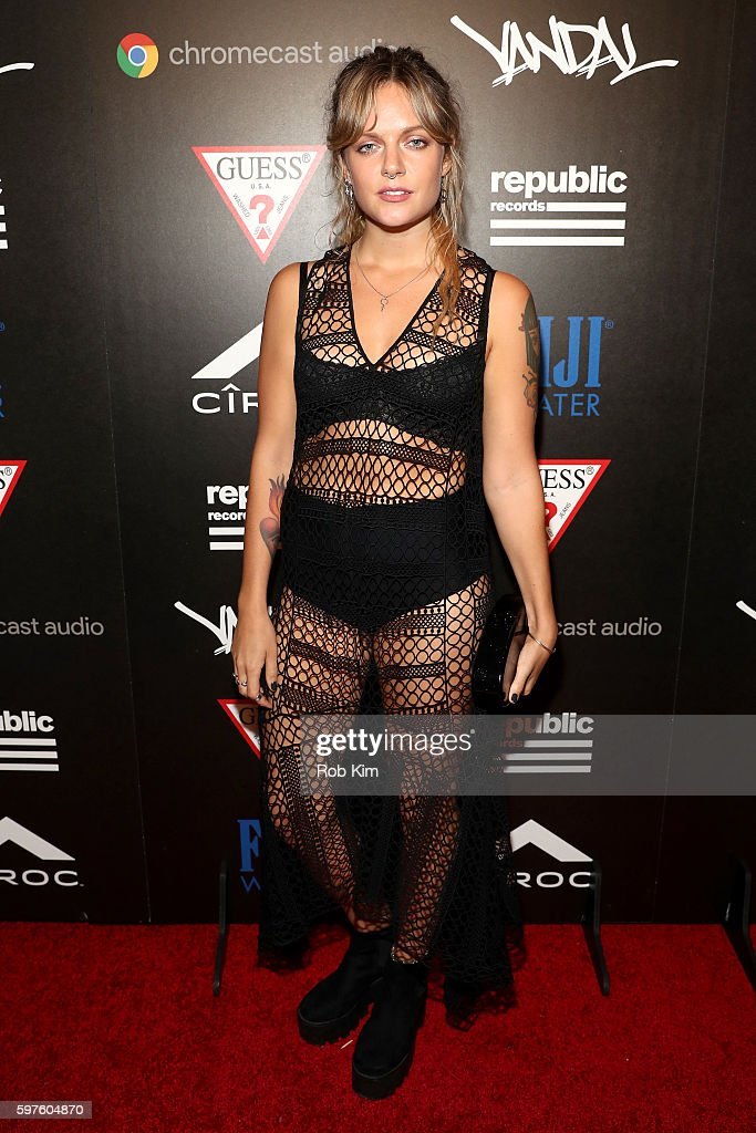 Republic Records & Guess Celebrate the 2016 MTV Video Music Awards at Vandal with Cocktails by Ciroc - Arrivals : News Photo
