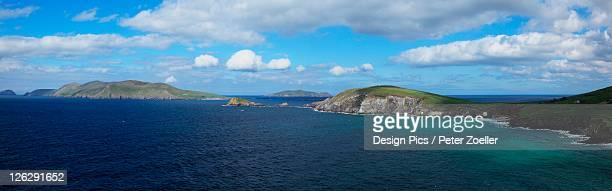 island seascape - great blasket island stock pictures, royalty-free photos & images