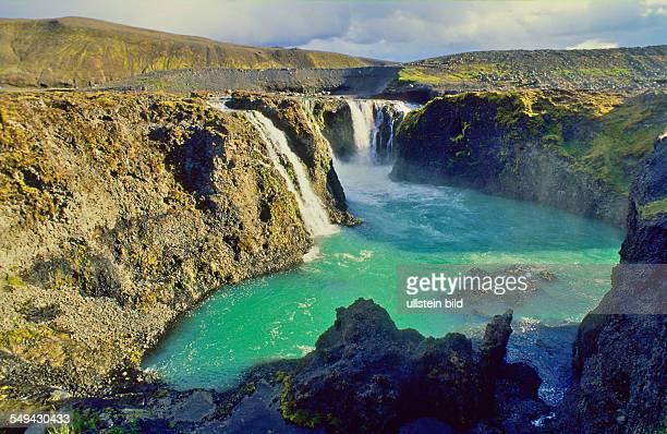 Island Sigoeldufoss