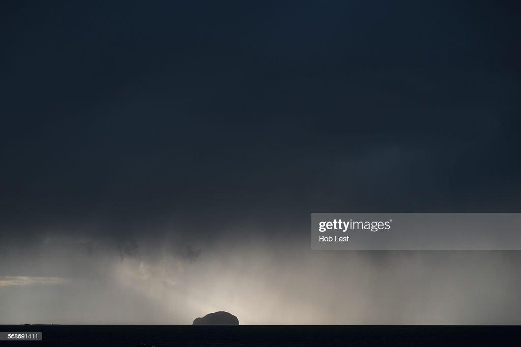 Island storm sky : Stock Photo