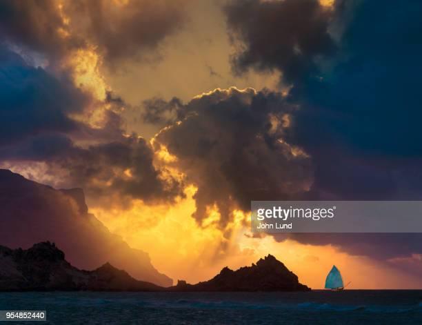 Island Sunset Sail